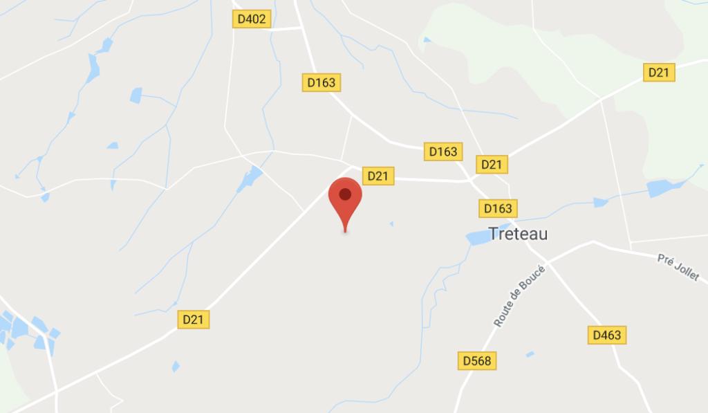 Laruechateau in Treteau